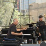 Joe Sample with the reunited Crusaders. Jacksonville Jazz Festival 2012